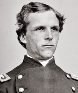 Armstrong in his early 20s, during the Civil War
