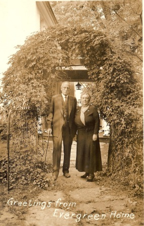 An undated photo of Sara Hoge with husband Howard